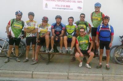 8/09/2012: Esta vez casi llegamos a Alagón